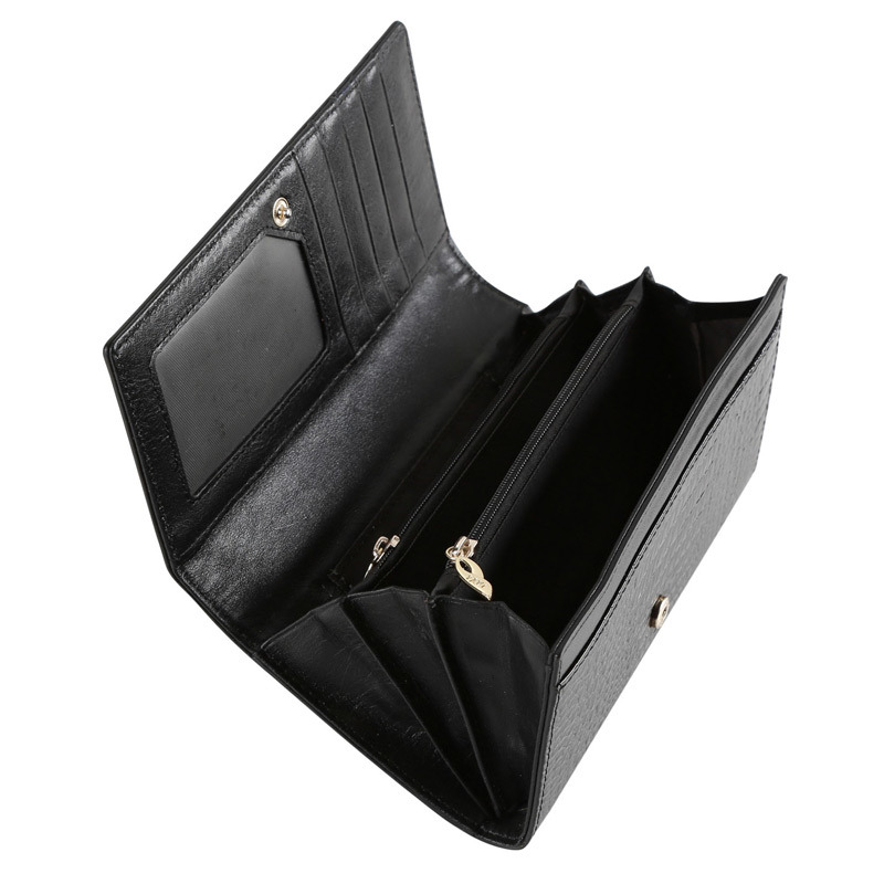 Fani Hot Sale Crocodile Genuine Leather Wallet Bag Lady Fashion Purse