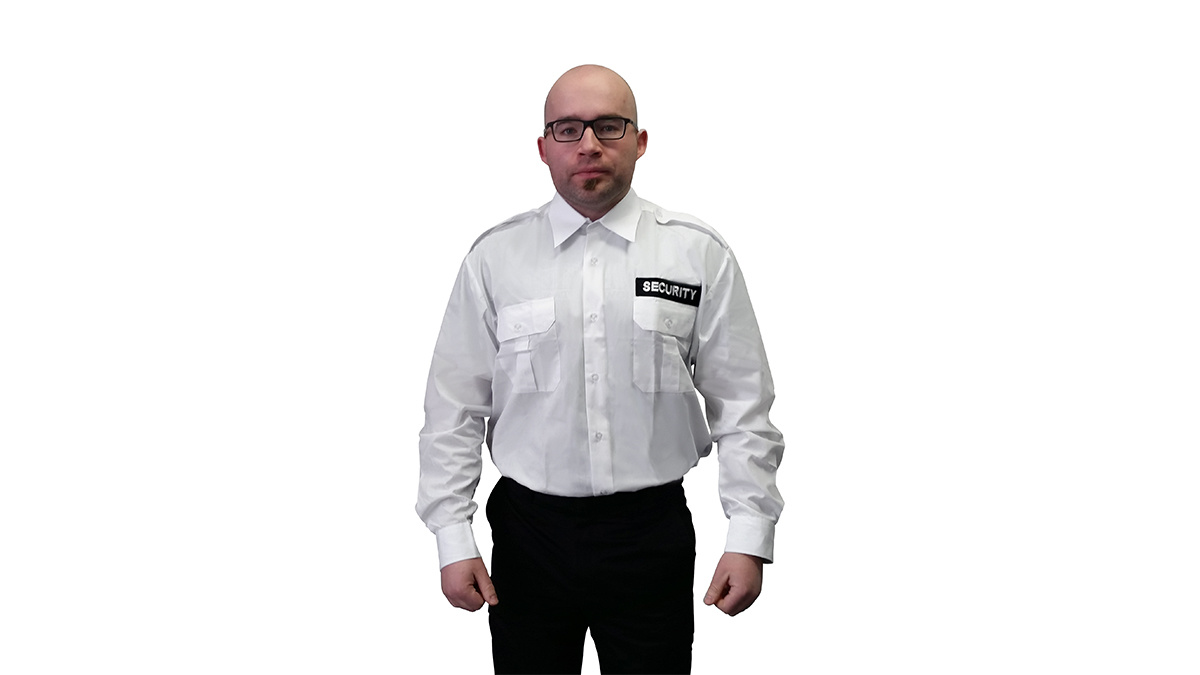 High Quality Grey Security Uniform