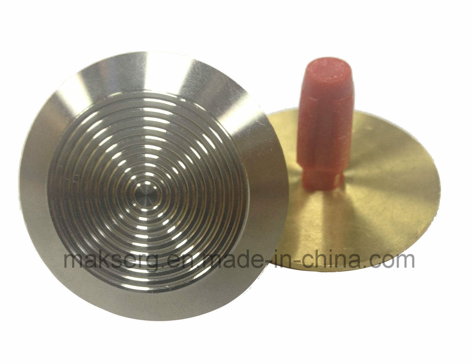 Aluminium Alloy Stainless Brass Road Stud Tactile Indicator CNC OEM