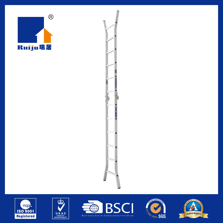 Two-Joint Aluminium Alloy Ladder
