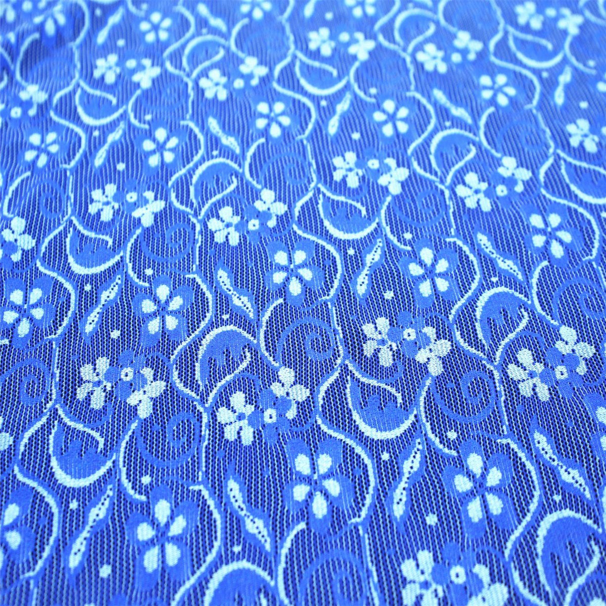 Garment Accessories Knitted Elastic Lace Fabric