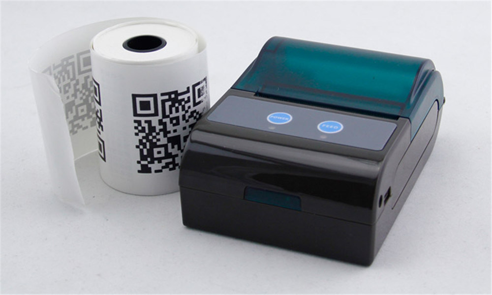 Zkc 5804 58mm Mini Portable WiFi Bluetooth Airprint Ticket Sticker Receipt Thermal Printer