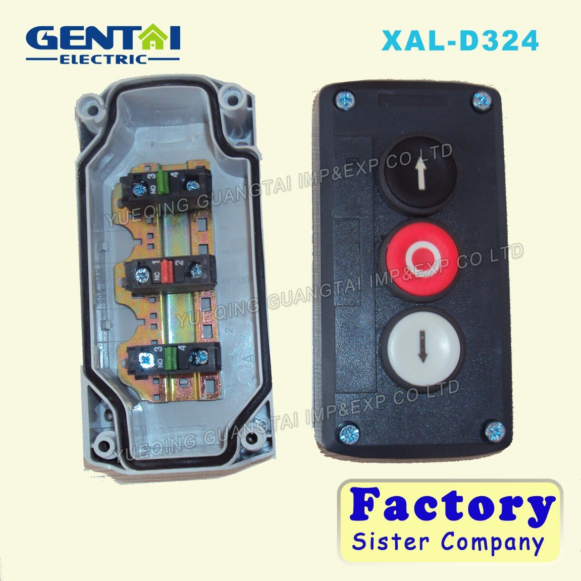 Xal Series Push Button Control Switch Box Elevator Control Box