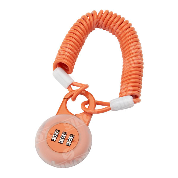 Zinc Alloy 3 Dials Combination Padlock