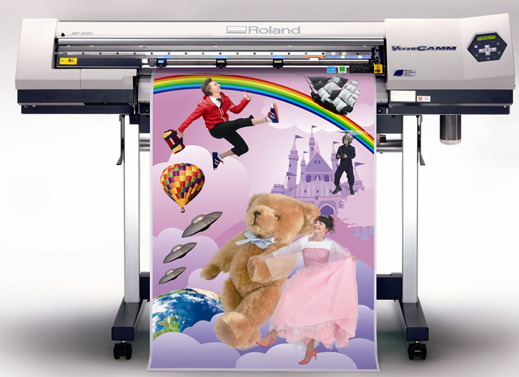 Printing Fold Flyers and Posters (YY-P0012)