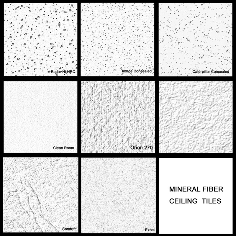 Mineral Fiber Ceiling Board Mineral Fiber Ceiling Board 02