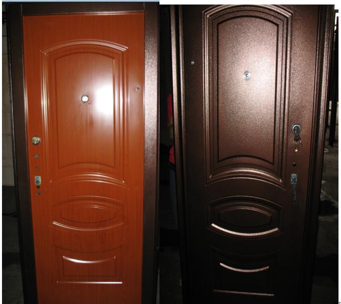 Security Door, Steel Security Door, Steel-Wood Armored Door