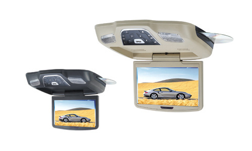 Flip down monitor - replace or add an overhead TV to any car or