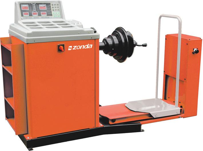 wheel balance machine
