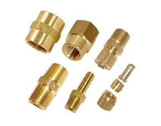 Precision Brass CNC Turning Parts