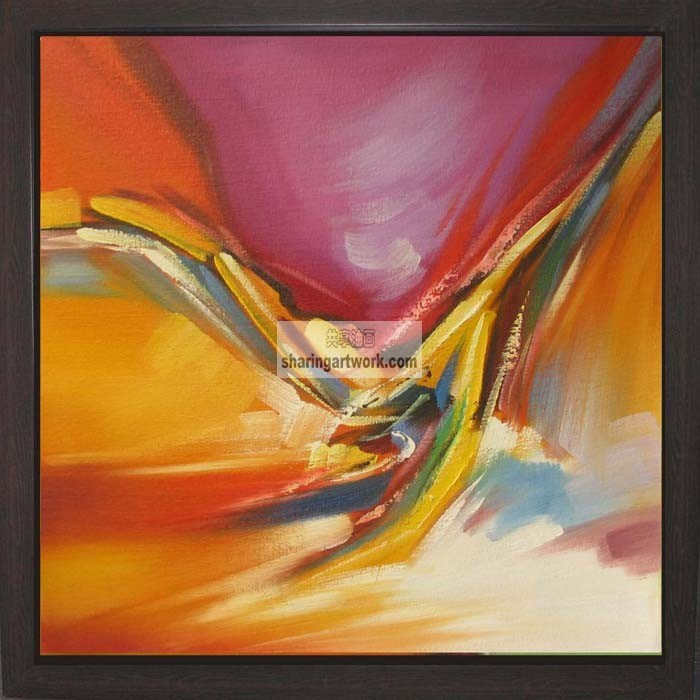 China Handmade Abstract Oil Painting On Canvas China Oil Painting Abstract Oil Painting