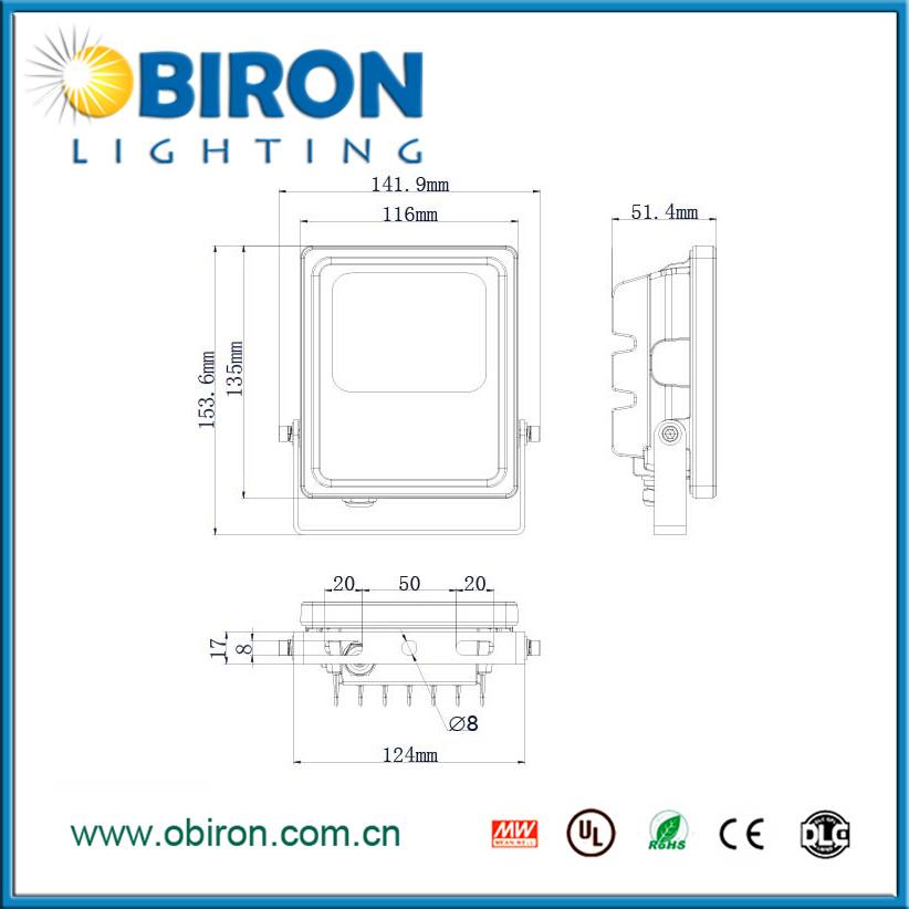 10W-200W IP65 LED Flood Light