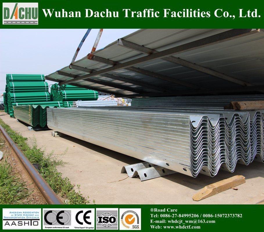 Safety Galvanized Steel Armco Crash Barrier