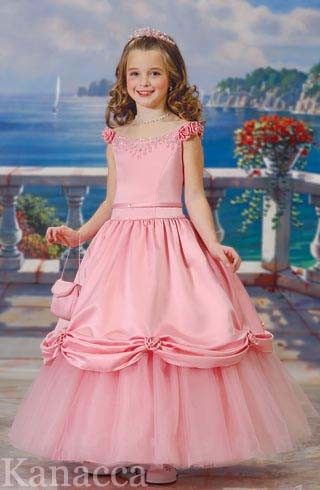 Wedding Flower Girl Dress KT4020