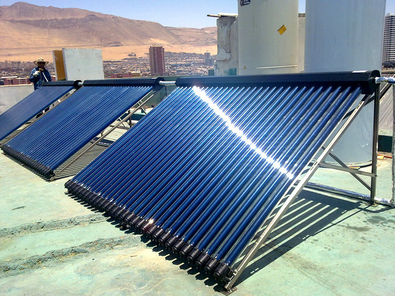 Heatpipe Solar Hot Water Heater