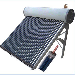 etc Heat Pipe with Vacuum Tube Solar Heater