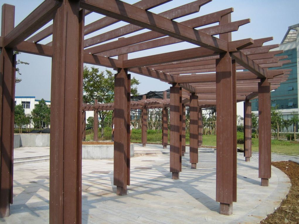 China wpc pergola photos pictures made in - Hout pergola dekking ...