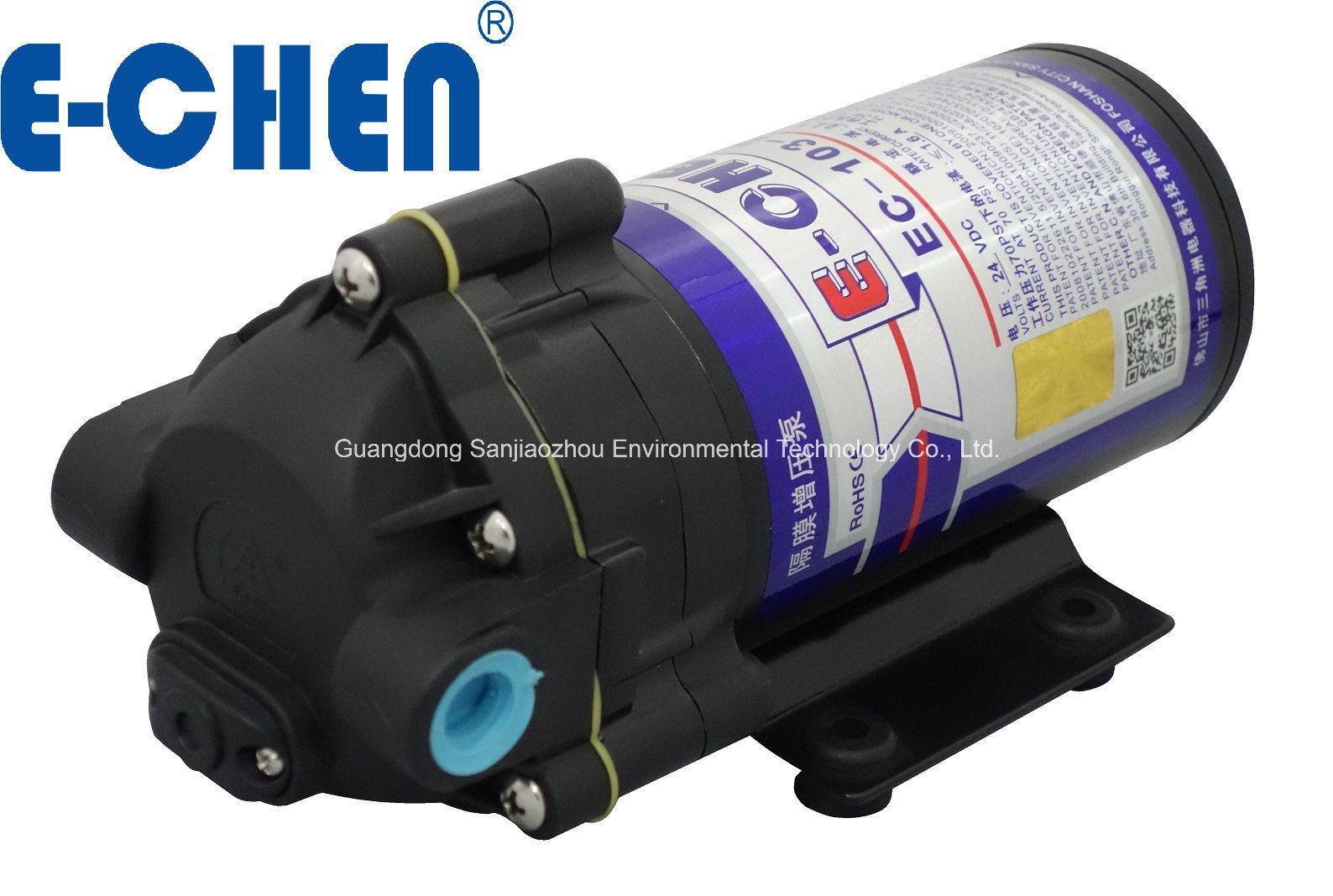 E-Chen 200gpd 103 Series Diaphragm RO Booster Pump