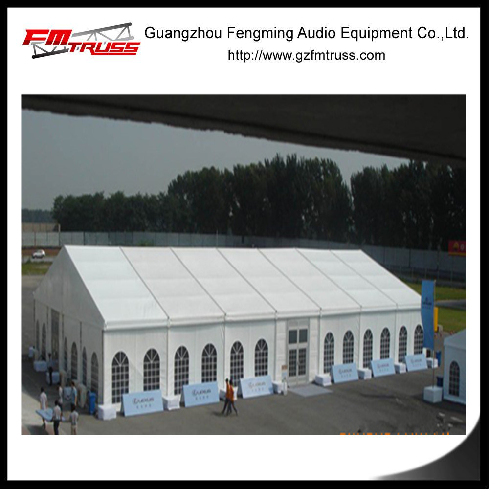 Temporary Aluminum Alloy Tent for Outdoor Storage Usage