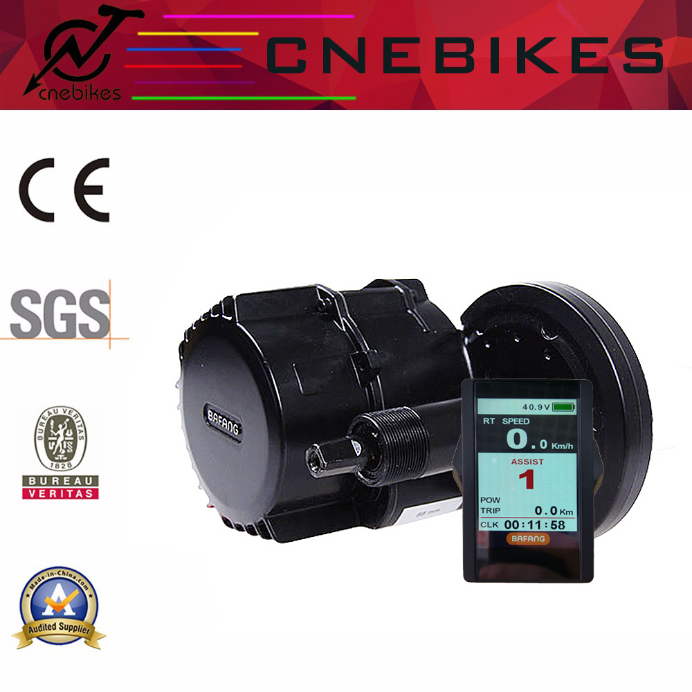 48V 1000W MID Motor Electric Bike Kit with Color Display
