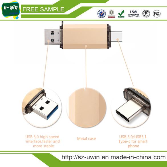 Type-C OTG USB 3.0 Flash Drive 8GB Pen Drive