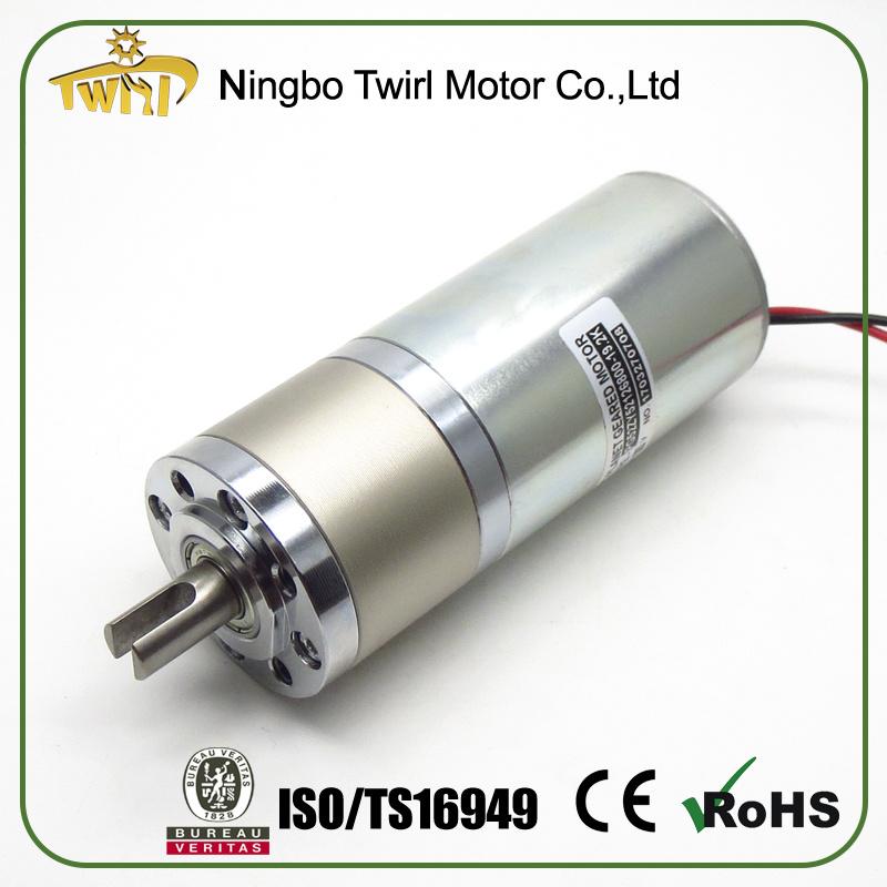Motor for Sale 52mm 12V 24V DC Electric Motor Low Rpm