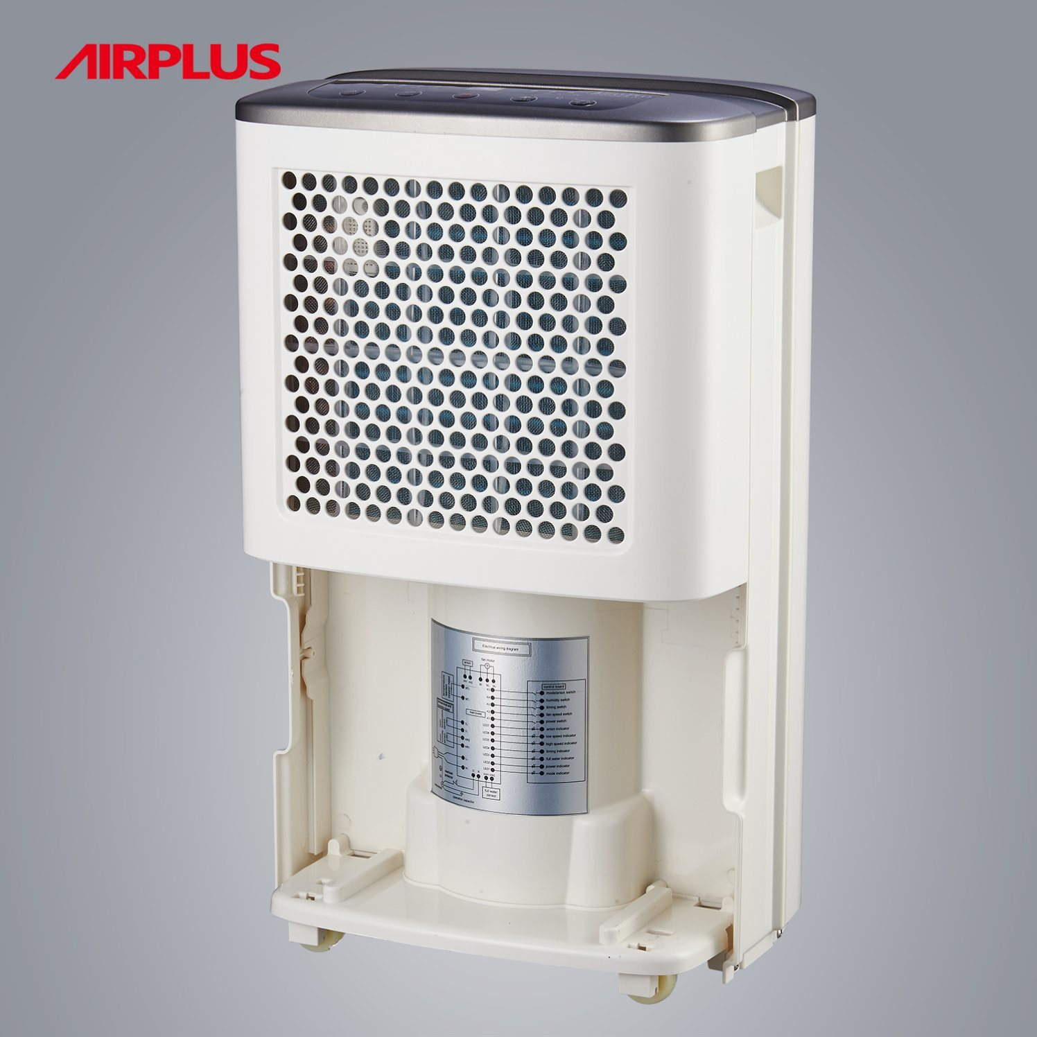 12L/Day Air Dehumidifier 160W for Home (AP12-101EE)