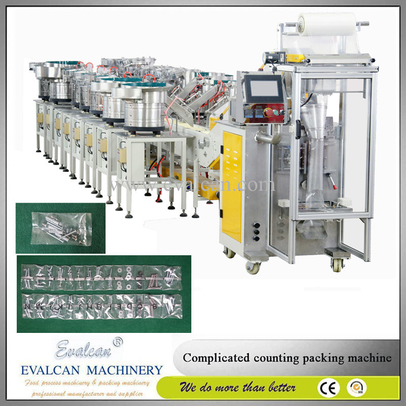 High Precision Automatic Hardware Fittings Weighing Counting Packing Machine
