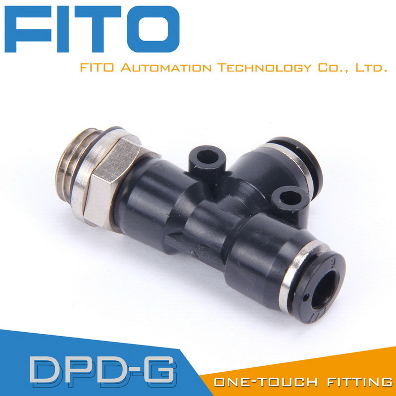 Pd Pneumatic G-Thread Fittings with Nickel Plated and O-Ring Pd8-02