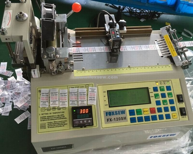 Automatic Printed Label Cutting Machine Hot Knife with Infrared Sensor