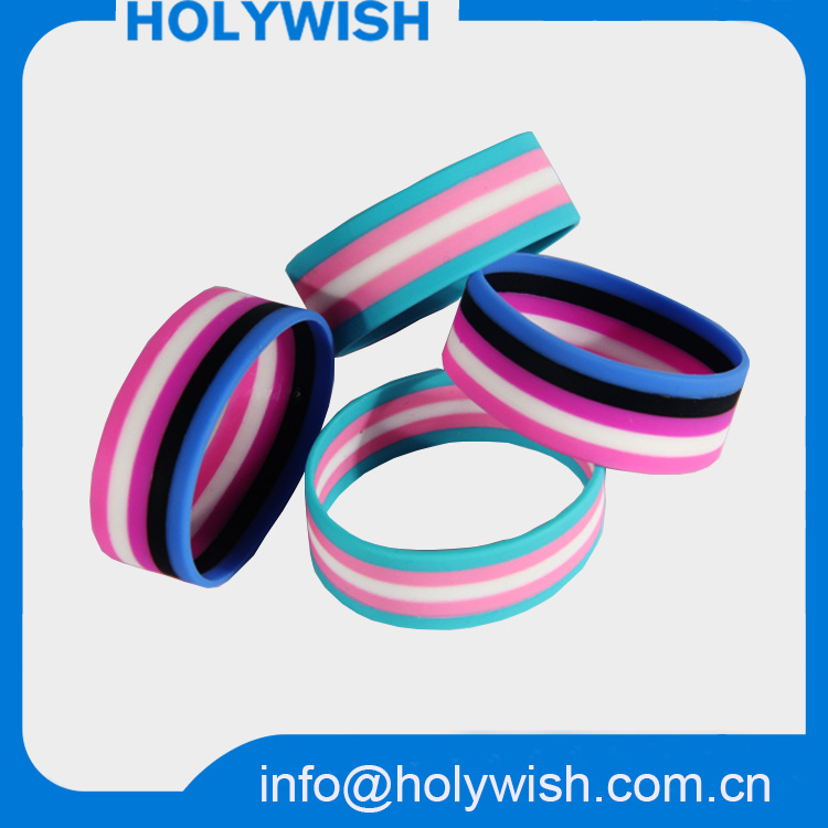 Promotion Customized Colorful Silicon Gifts Wristbands for Teens