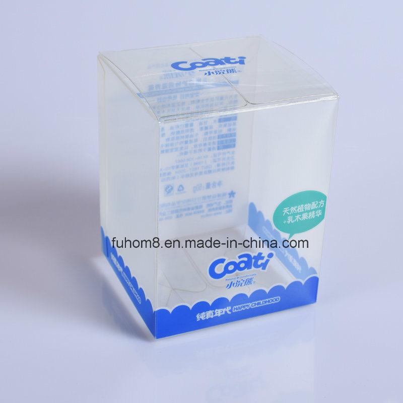 Custom Clear Printing PP/PVC/Pet Plastic Packaging Gift Box