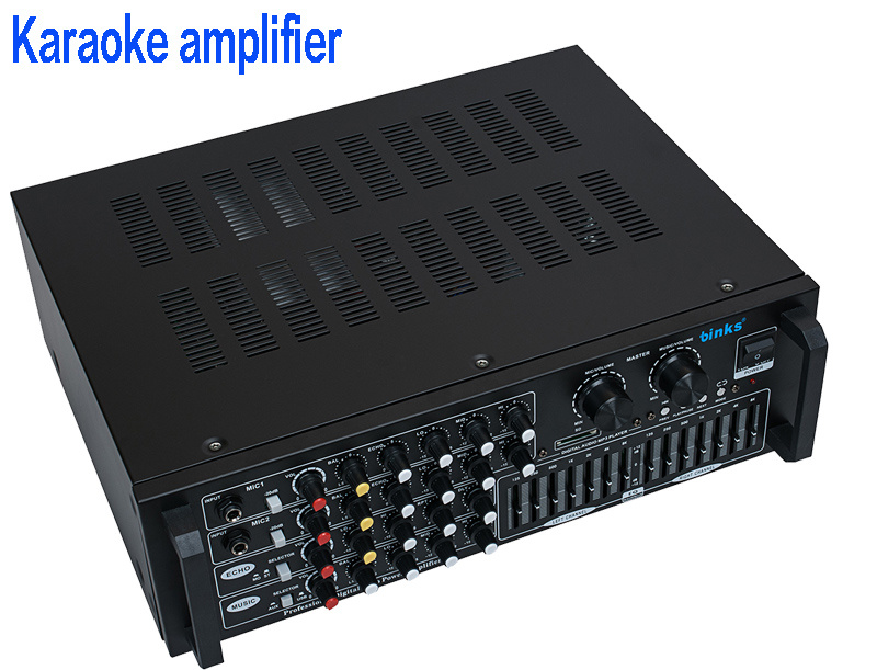 Professional Audio Karaoke Amplifier with EQ EU-2500