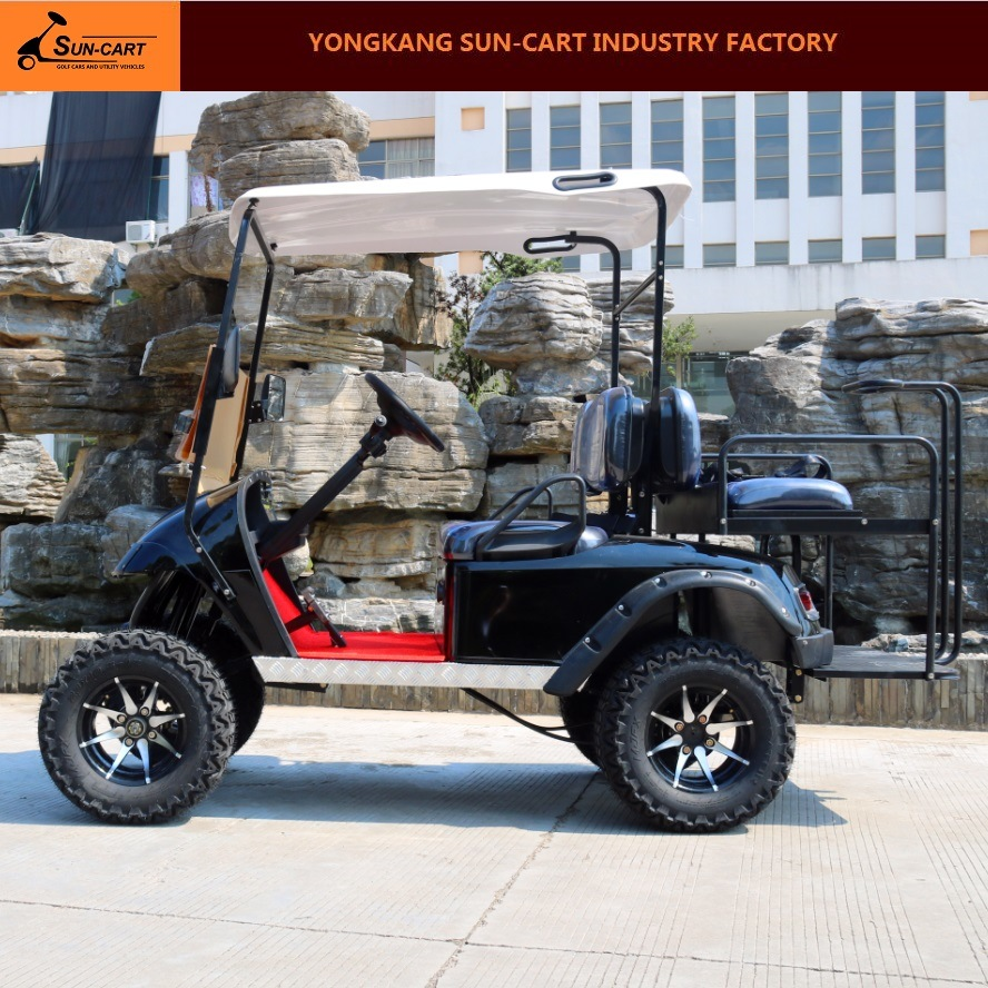Hot Sale 4 Seater Electric Hunting Golf Cart