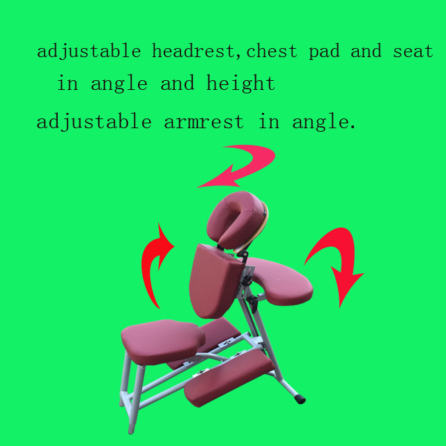Portable Aluminium Massage Chair Amc-001