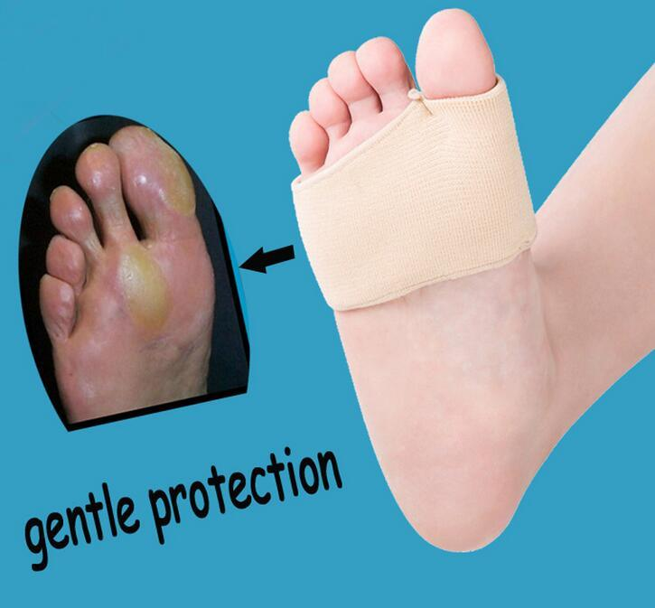 Metatarsal Cushion Silicone Gel Pad Ball of Foot Pain Fore Foot Shoe Insole Toe