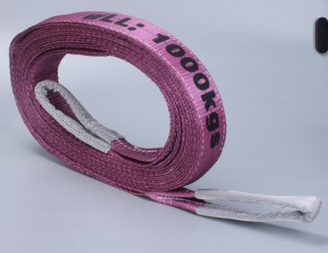 En1492-1 7: 1 Polyester Nylon Flat Webbing Lifting Sling