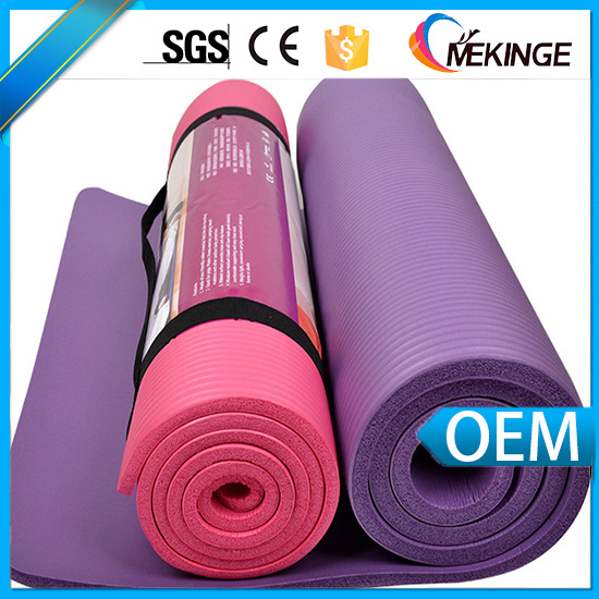 Durable Washable NBR Design Yoga Mat