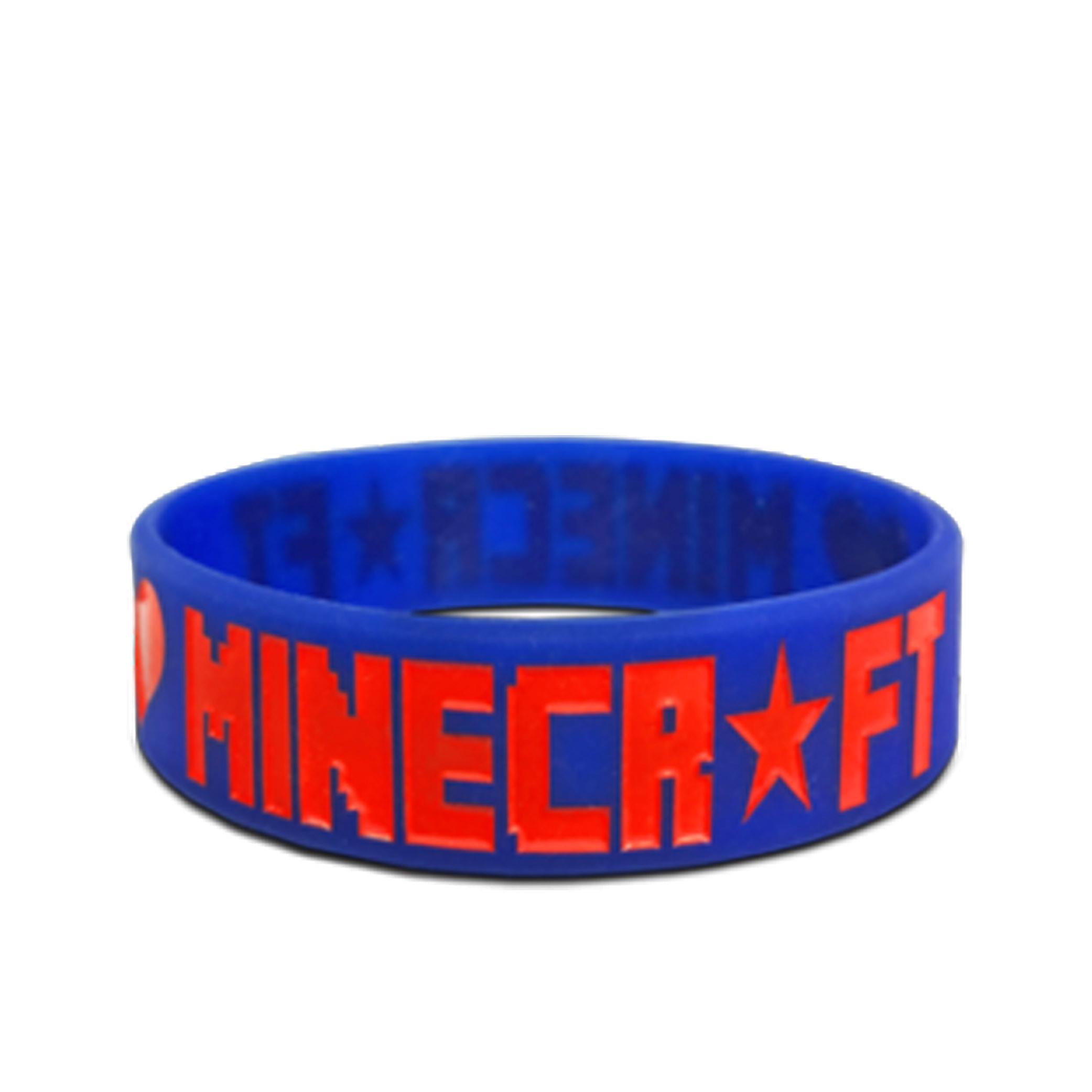3/4 Silicone Wristband Bracelet Custom Logo