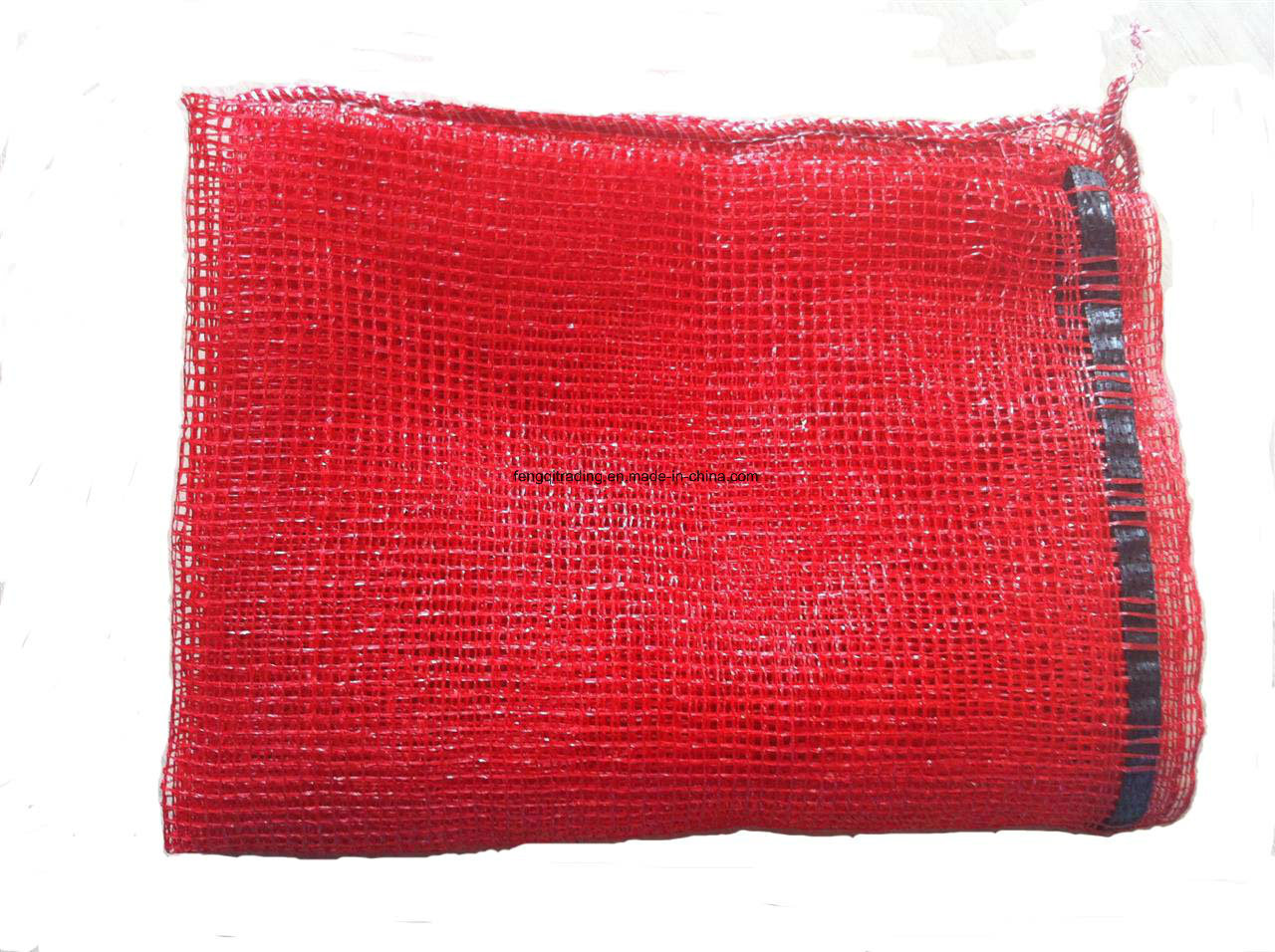 Wholesale Drawstring Mesh Bags and 50kg PP Bags for Onion Potato and Firewood L-Sewing Mesh Bag for Firewood