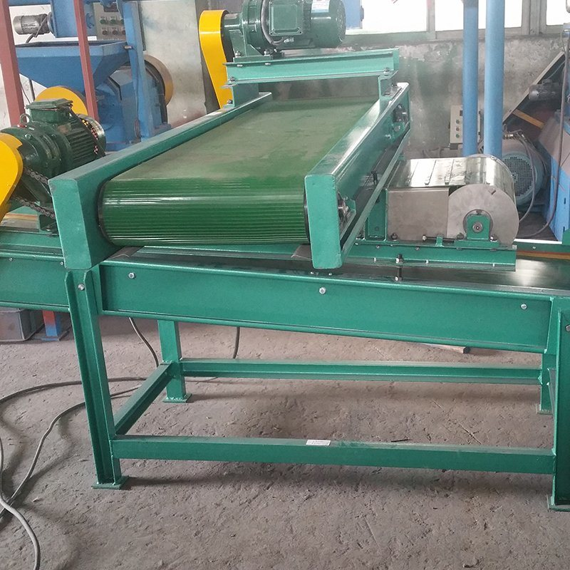 Xinda DCT-500 Belt Iron Separator for Used Tyre Recycling Plant Belt Conveyor