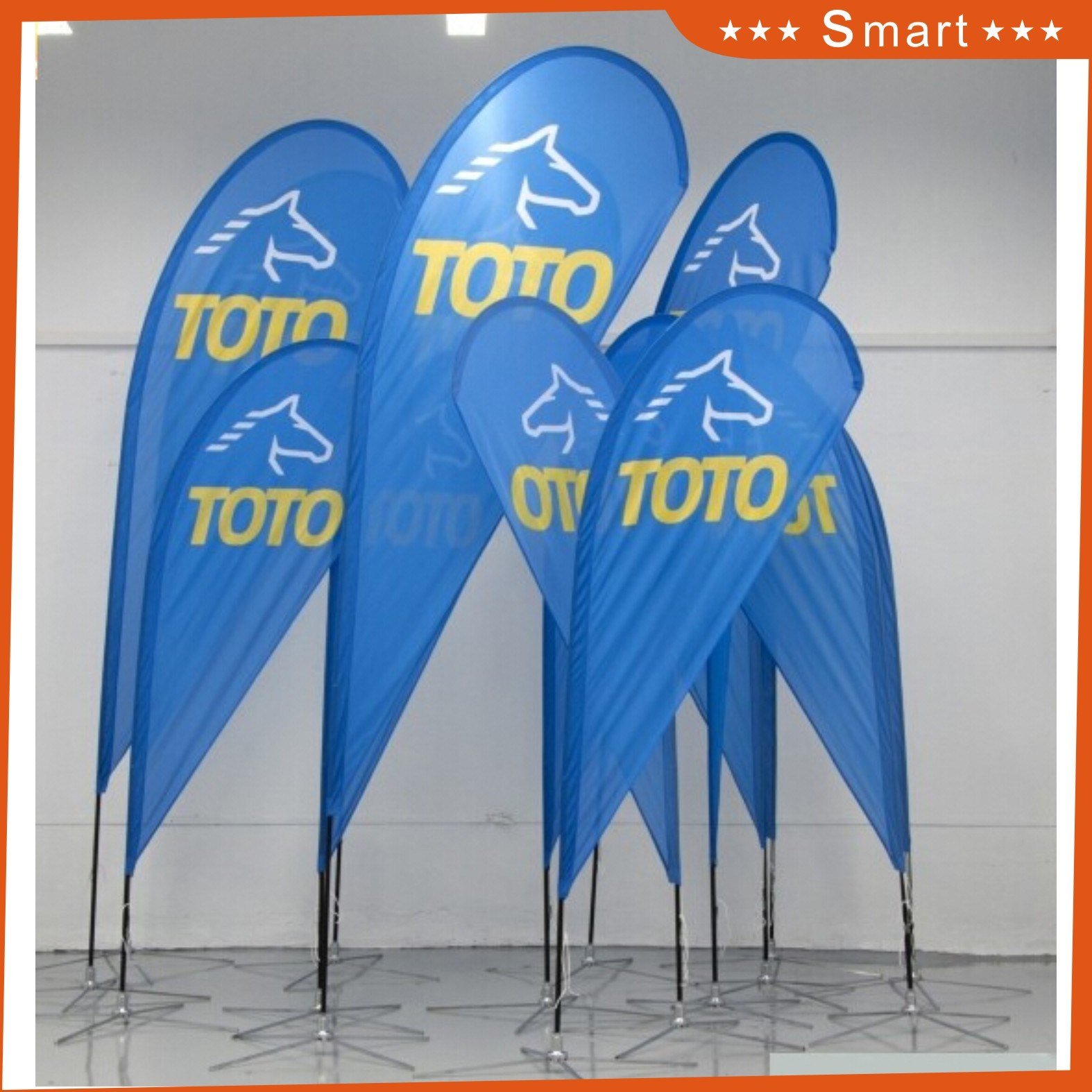 Outdoor Advertising Hanging Style Display Beach Flag
