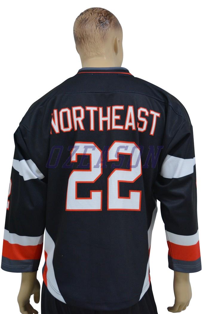 Cheap Custom Sublimation Team Ice Hockey Jerseys Wholesale (H001)