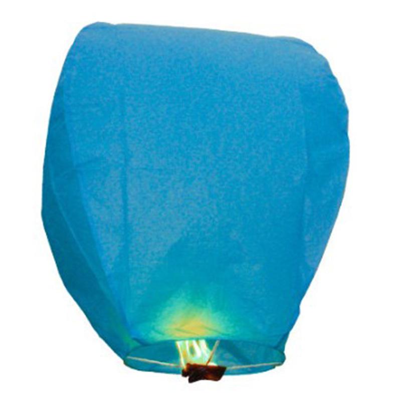 100% Handmade Round Shape Paper Sky Lantern
