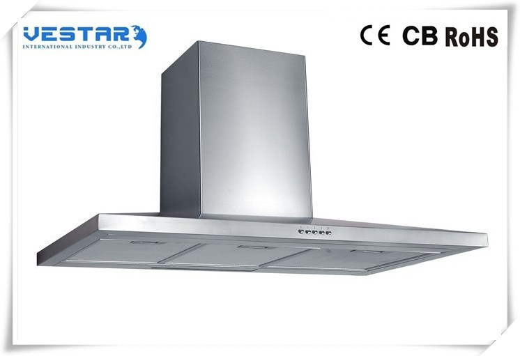 Cooker Hood with Glass Panel Made in China Mainland