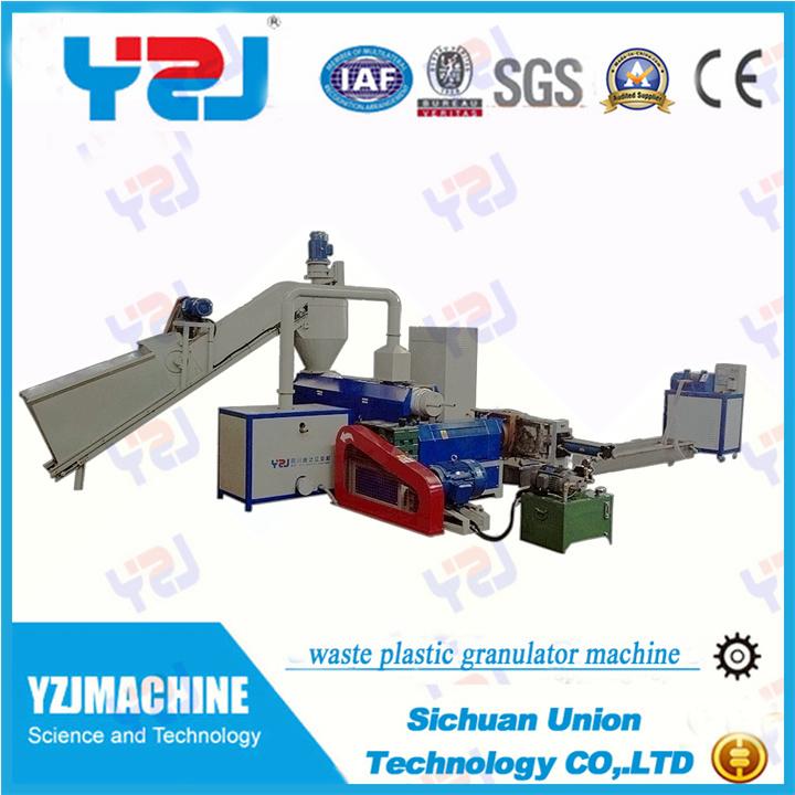 India Waste Plastic Recycling Machine Witn Plant