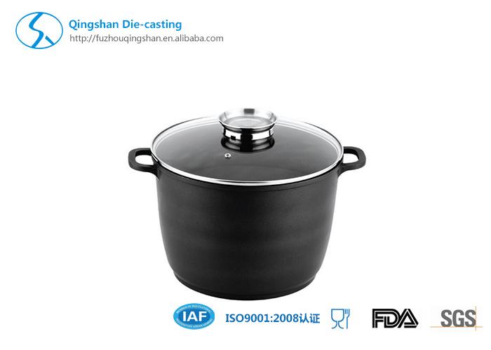 Aluminum Die Casting Non-Stick Soup Pan