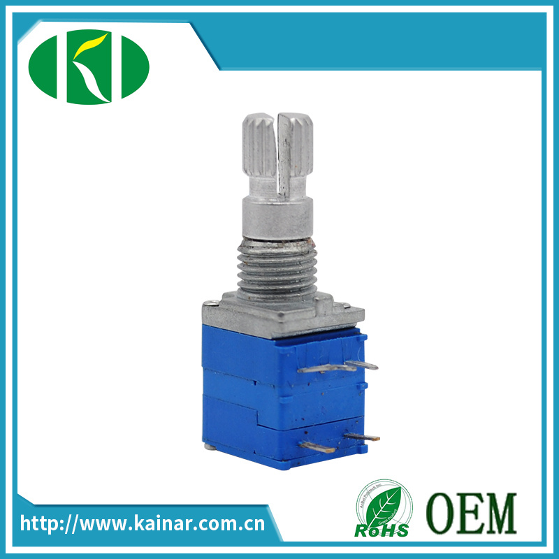 9mm 5 Pins Rotary Potentiometer with Switch Wh9011ak-1