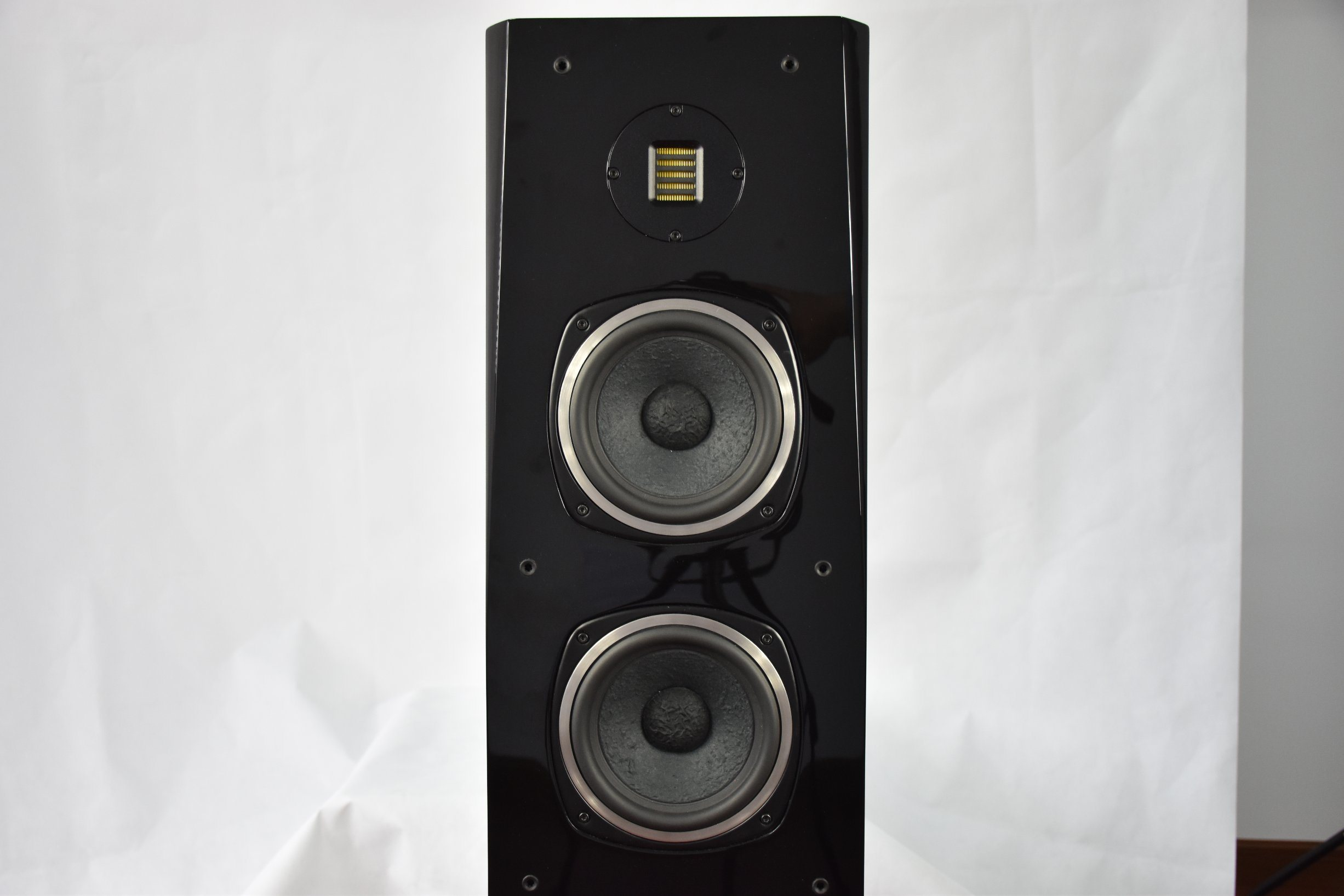 Black Professional Floor Home Theater System DJ Sound Box