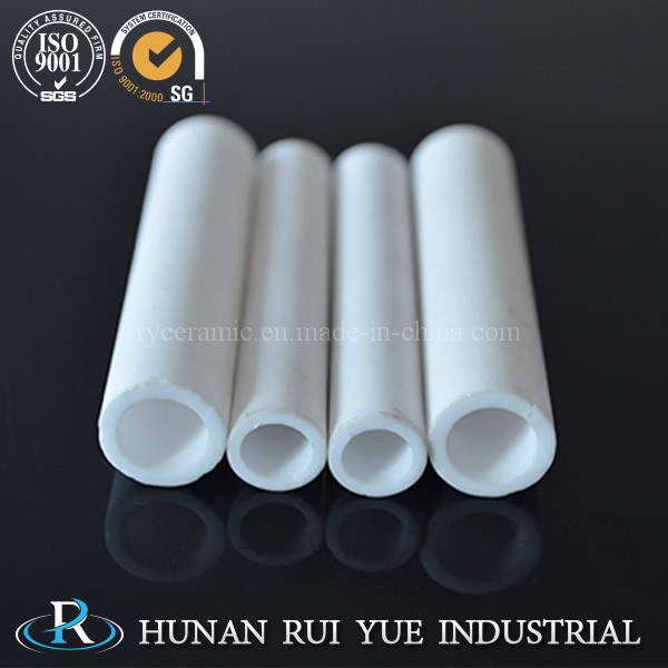 High Temperature Refractory Alumina Tube or Alumina Ceramic Roller for Industrial Kiln